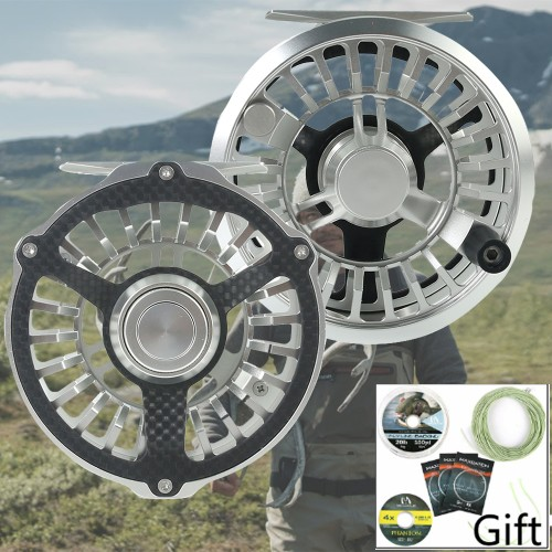 CM Carbon Fiber Sensor Waterproof Fly Reel